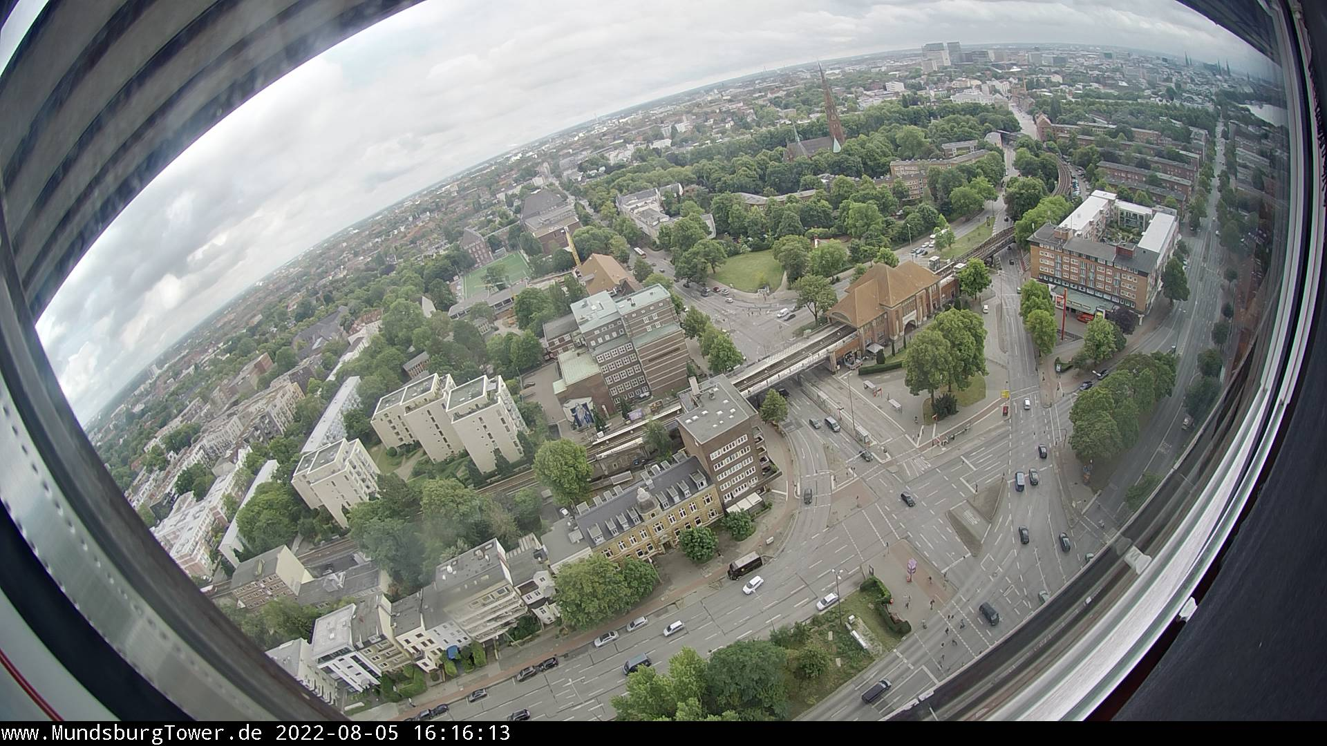 WebCam Mundsburgtower